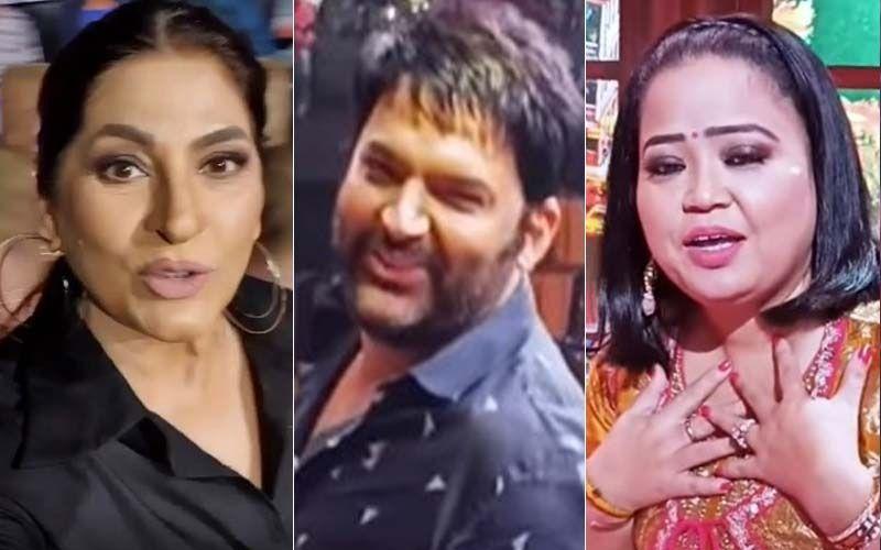 The Kapil Sharma Show: Archana Puran Singh Mocks Kapil Sharma's Paunch; Bharti Singh Calls Her 'Chugli Chachi' In This BTS Video-Watch