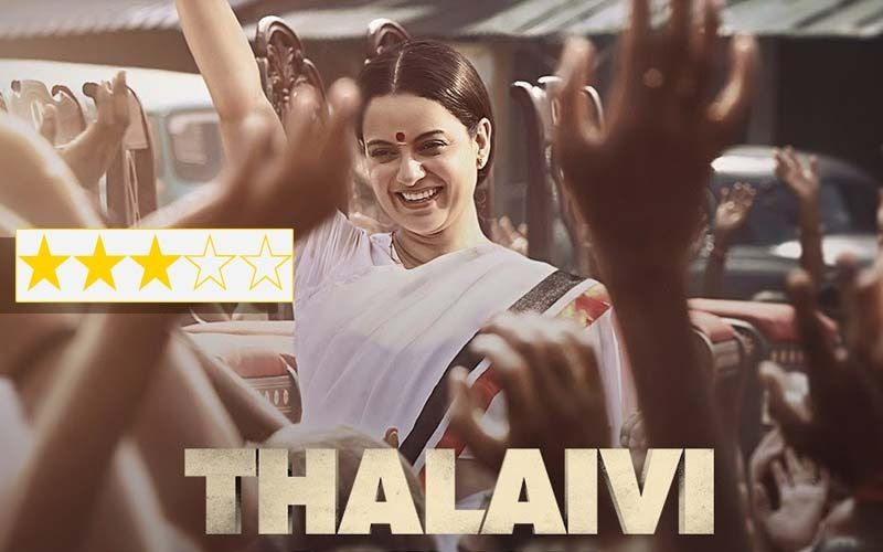 Thalaivii Review: Kangana Ranaut's Movie Is Full Of Praiseworthy Performances But Falters In Its Presentation