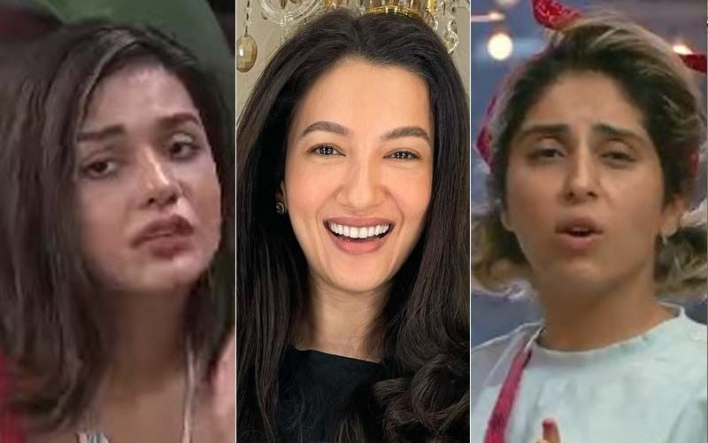 Bigg Boss OTT: Divya Agarwal Calls Neha Bhasin 'Disgusting' After She Forgets Her Dirty Underwear On The Sink; BB7 Winner Gauahar Khan Lashes Out At The Former