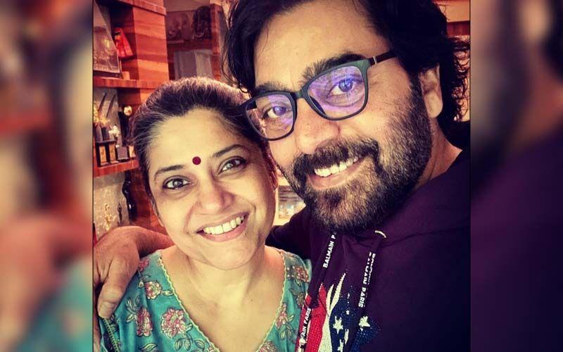 Crime Patrol Satark: Renuka Shahane Joins Husband Ashutosh Rana To Host The Show; Shares BTS Video From Sets