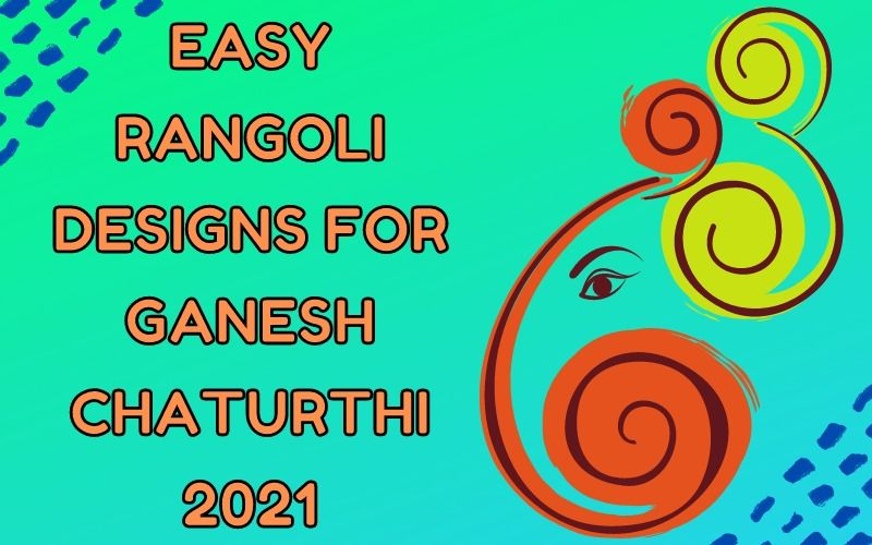 Easy Rangoli Designs For Ganesh Chaturthi 2021: Simple Flower Rangoli Design Ideas That Will Adorn Your Home With Beauty And Fragrance As You Welcome Bappa!
