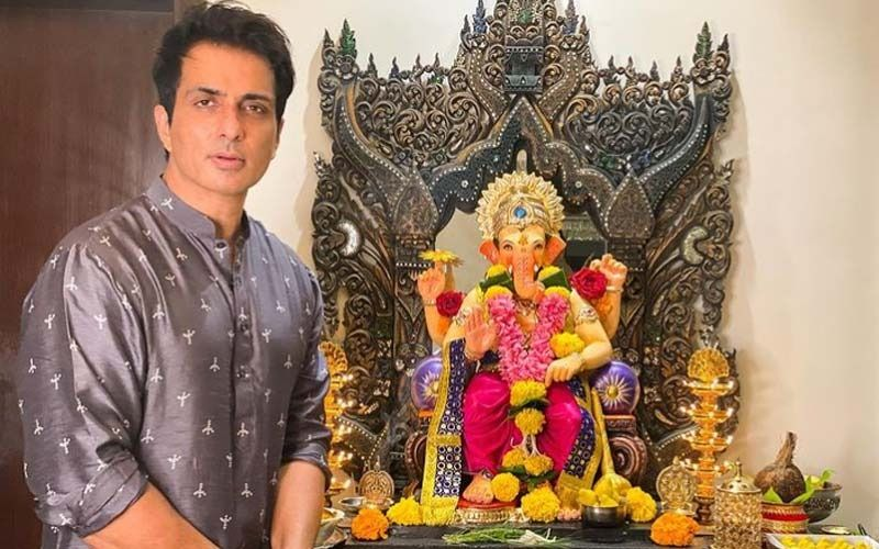 Ganesh Chaturthi 2021: Sonu Sood Brings Ganpati Bappa Home; Actor Says He Has Been Celebrating The Festival For Two Decades