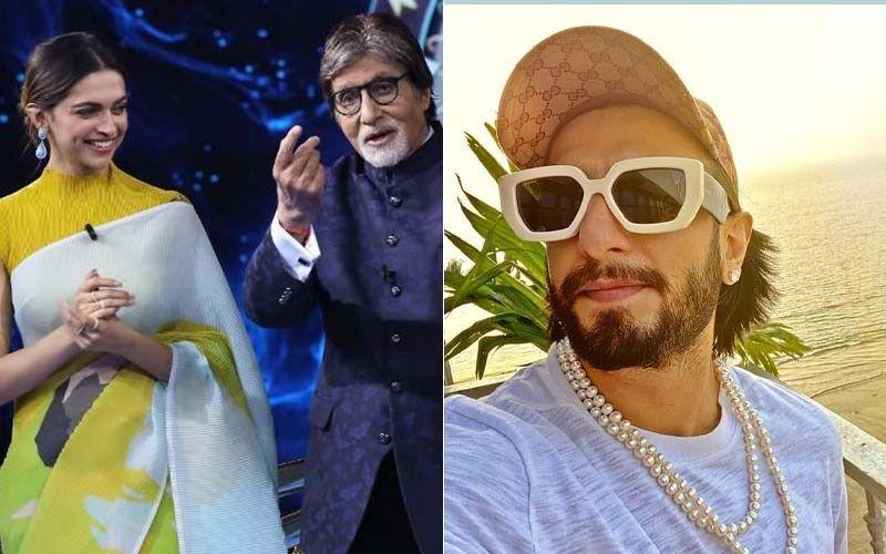 Kaun Banega Crorepati 13: Amitabh Bachchan Shares How He Was Once Caught In The Middle Of Deepika Padukone And Ranveer Singh's PDA