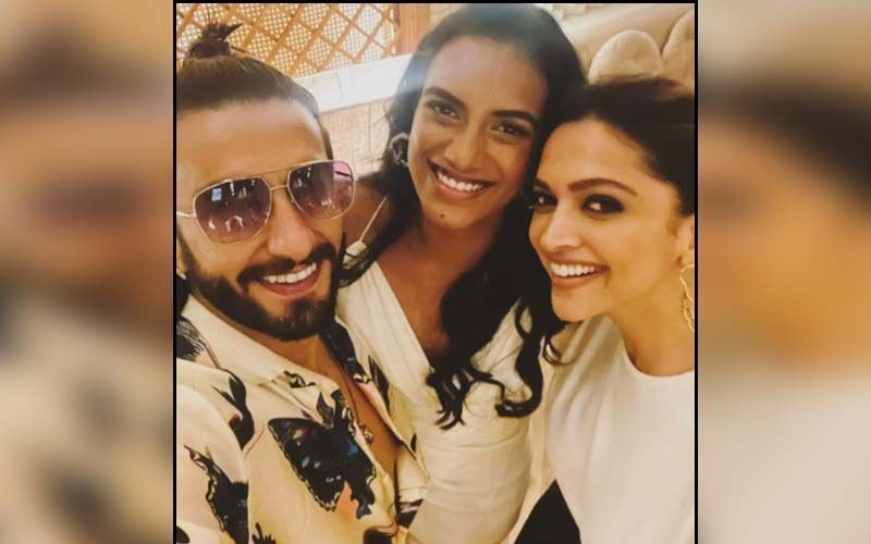 Ranveer Singh And Deepika Padukone Have A 'Smashing Time' With Olympic Medallist PV Sindhu; Trio Meets Over Dinner In the City-See PIC