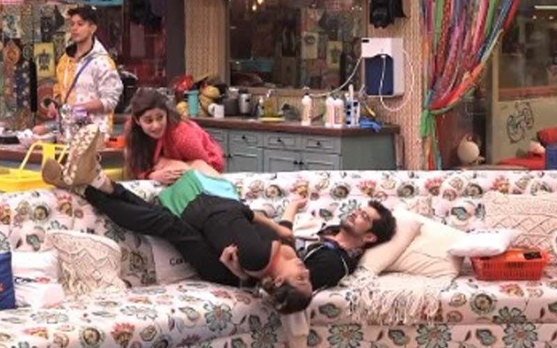 Bigg Boss OTT: Raqesh Bapat Leaves Shamita Shetty In Splits After He Screams In Pain, 'I'm Not Going To Have Children Anymore'