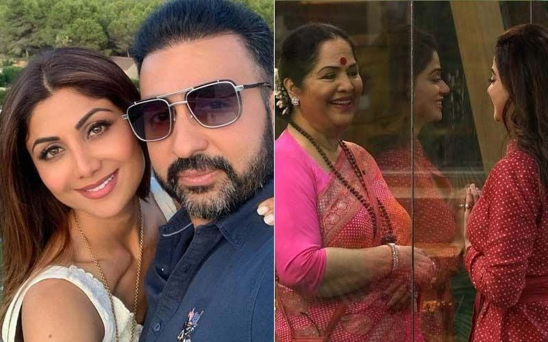 Bigg Boss OTT: Shamita Shetty Asks Mom Sunanda Shetty About Her Sister Shilpa Shetty And Brother-In-Law Raj Kundra; Says, 'How Is She, Jiju?'