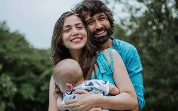 Nakuul Mehta's Wife Jankee Shares A Glimpse Of Things She Does To Entertain Her Baby Sufi When The Actor Is Away For Work
