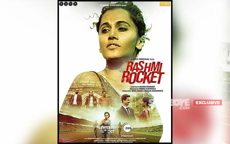 Rashmi Rocket Trailer Launch: 'It's Just Validating My Efforts,' Says Taapsee Pannu On The Online Trolling She Is Facing For Her Physique In The Film-EXCLUSIVE