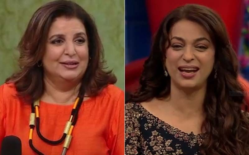 Zee Comedy Show: Juhi Chawla Blushes As She Spills The Beans On Her Love Story With Husband Jay Mehta