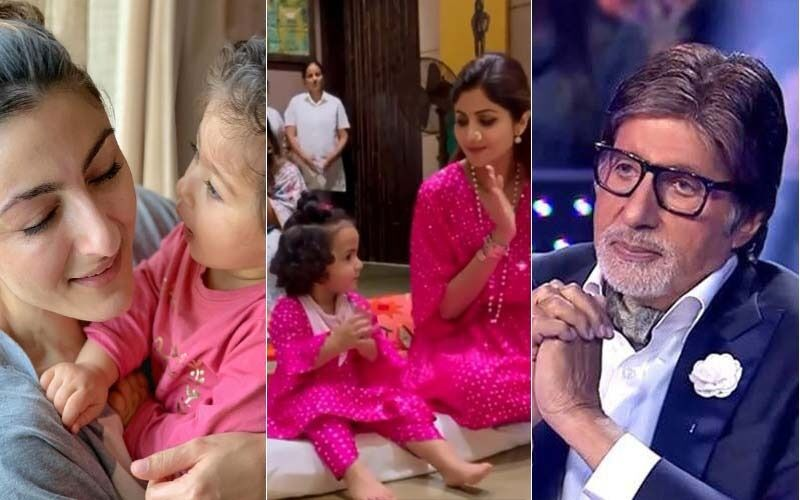 International Daughters' Day 2021: Amitabh Bachchan, Shilpa Shetty, Soha Ali Khan And Others Wish Their Girls In The Sweetest Way Possible