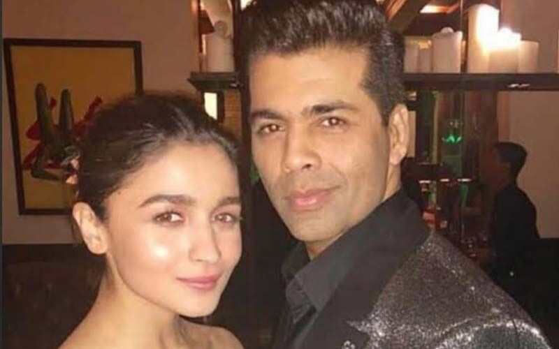 International Daughters' Day 2021: Karan Johar Wishes His 'Baby Girl For Life' Alia Bhatt With An Adorable Photo-See POST