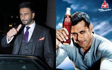 VIDEO: Will Ranveer Singh Drink Away Salman Khan's Thums Up?