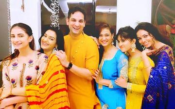 Ganeshotsav 2019: Yeh Rishta Kya Kehlata Hai's Shivangi Joshi Bonds With Shweta Tiwari And Rati Pandey