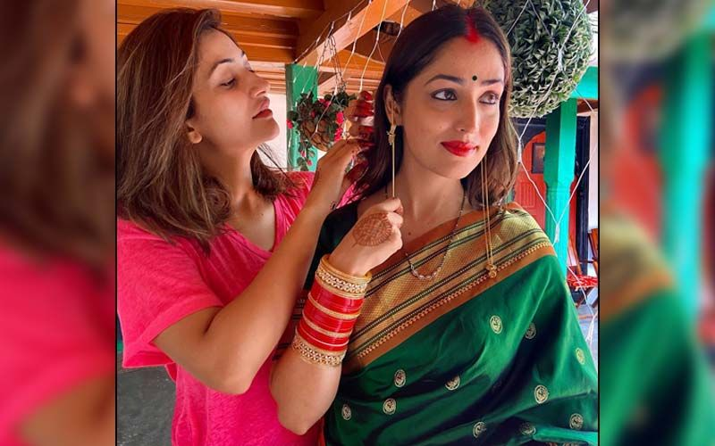 Yami Gautam Calls Sister Surilie 'One-Man Army' As She Shares New Post-Wedding Picture; Actress' Diamond-Studded Mangalsutra Has All Our Attention
