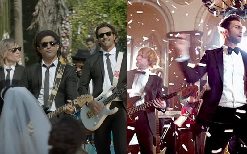 OMG: Did We Just See Bollywood Version Of 'Maroon 5-Sugar' In Rock On!! 2's Latest Song?