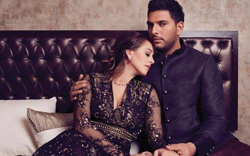 Take A Look At Yuvraj Singh and Hazel Keech's Toontastic Wedding Invite