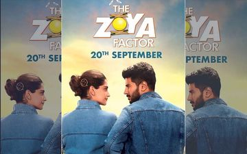 The Zoya Factor Poster: Sonam Kapoor And Dulquer Salmaan Announce Film's New Release Date