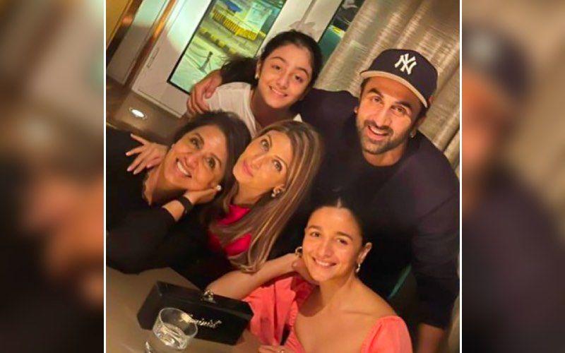 Alia Bhatt's Sends Love To Beau Ranbir Kapoor's Mother Neetu Kapoor On Her 63rd Birthday; Shares A Happy Family Photo