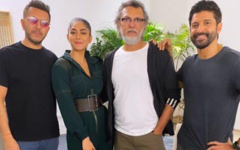 Toofaan: Mrunal Thakur Celebrates Director Rakeysh Omprakash Mehra's Birthday With Farhan Akhtar; See Pic