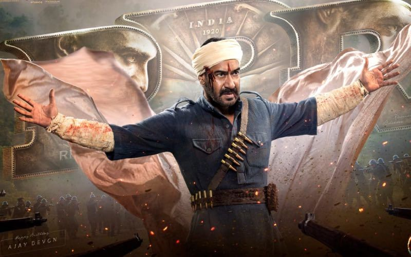 RRR Motion Poster: SS Rajamouli Unveils Ajay Devgn's Daredevil Look On His Birthday; Says 'He Derives Strength From Empowering His People' – VIDEO