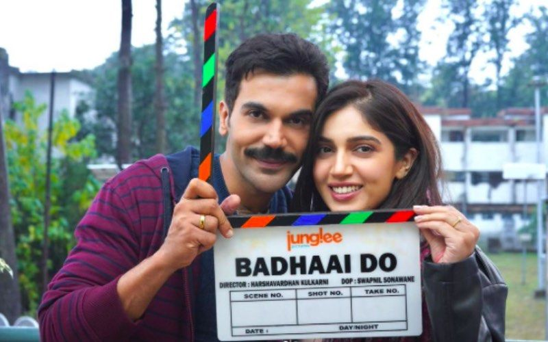 Badhaai Do First Look: Rajkummar Rao And Bhumi Pednekar Kick-Start The Shoot; Share Glimpses From The Sets – See Pics