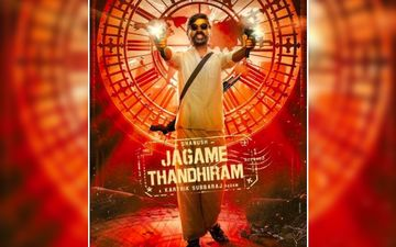 Jagame Thandhiram: Dhanush Keeps His Fingers Crossed As He Hopes To See A Theatrical Release Of His Film; Fans Hope The Same