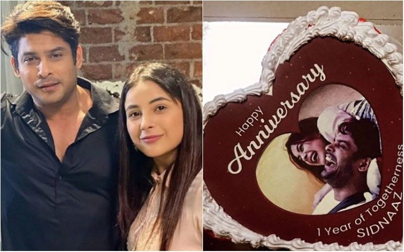 Bigg Boss 14: BB13 Shehnaaz Gill And Sidharth Shukla Complete 1 Year Of Togetherness; Gill Tells Fans, 'Please Don't Send Cakes'