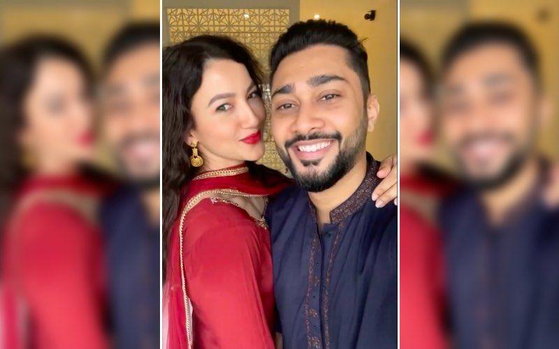 Gauahar Khan Shows An Unusual Way Of 'Love'; Bigg Boss 7 Winner Gets Goofy In Bed With Husband Zaid Darabar – VIDEO
