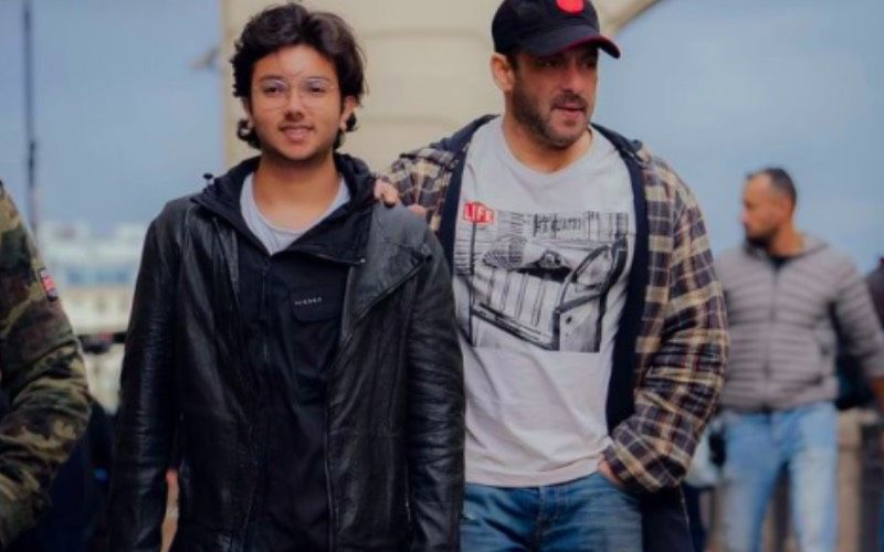 Salman Khan Takes A Casual Stroll In The City With Nephew Nirvan Khan; 'Chacha Bhatija' Duo Walks With Utmost Swag- See Pic