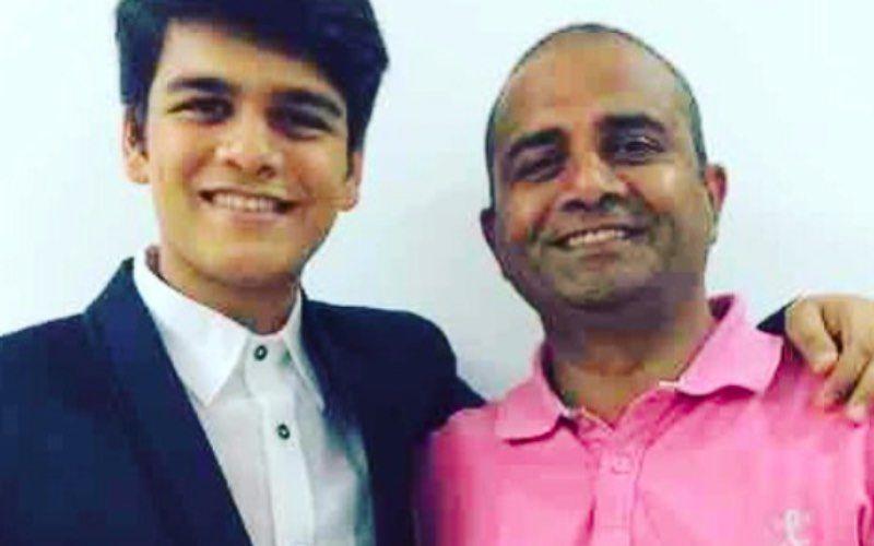 Taarak Mehta Ka Ooltah Chashmah Fame Bhavya Gandhi Shares A Throwback Picture With Late Father; Calls Him 'Hero' – See Pic
