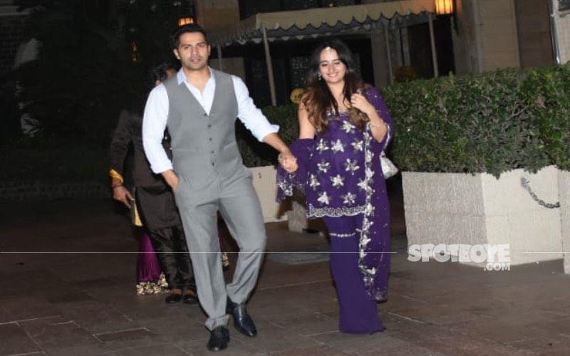 Varun Dhawan's Subtle Yet Romantic Gestures For New Bride Natasha Dalal At The Wedding Win Over The Internet