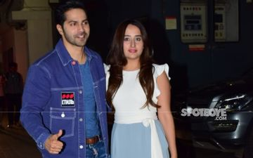 Newlyweds Varun Dhawan And Natasha Dalal Make Their First Appearance As A Married Couple; Walk Hand-In-Hand As They Leave Alibaug - WATCH