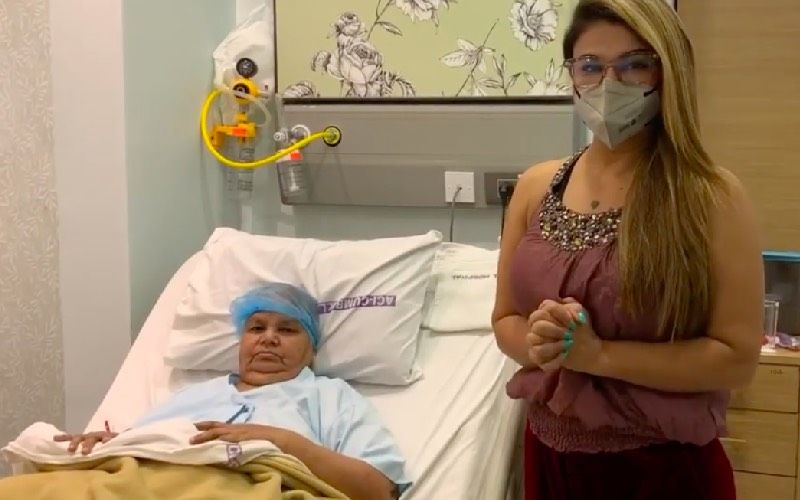 Bigg Boss 14's Rakhi Sawant Shares Her Mother's 'Catwalk' From The Hospital Post Her Cancer Treatment– VIDEO