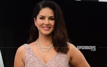 Sunny Leone Oozes Sensuality In Sexy Bathrobe As She Channels Her Inner Audrey Hepburn – See Pic