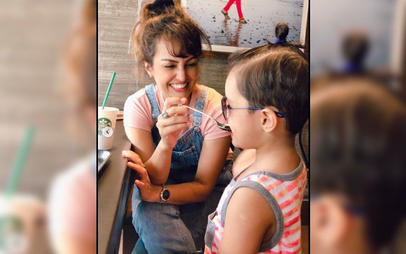 Nisha Rawal Heads Out For A Coffee Date With Son Amidst Feud With Husband Karan Mehra — See Pic