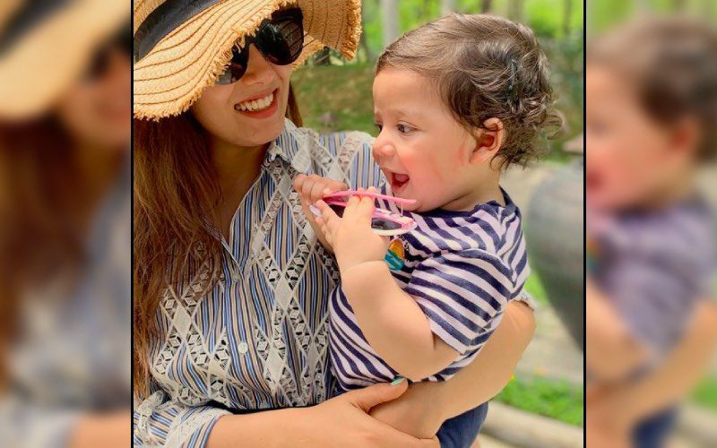 Mira Rajput Turns 'Mom The Builder' For Son Zain Kapoor And Gifts Him A JCB Toy On His Birthday; Wants 'Petrol Kissies' In Return-See Video