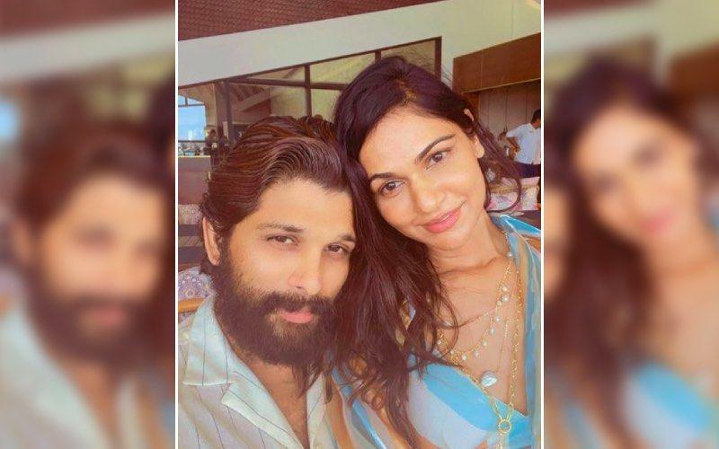 Allu Arjun Rings In 38th Birthday; Wife Sneha Reddy Makes A Sweet Birthday Wish Sharing An Adorable Selfie From Maldives Vacay