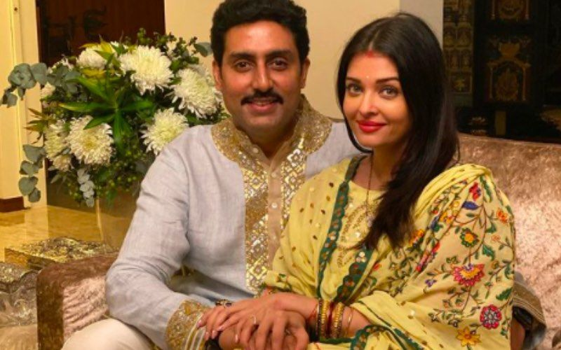 Abhishek Bachchan Gives A Sassy Reply On Being Asked If Aishwarya Rai Bachchan Ever Advises Him About His Romantic Scenes – VIDEO