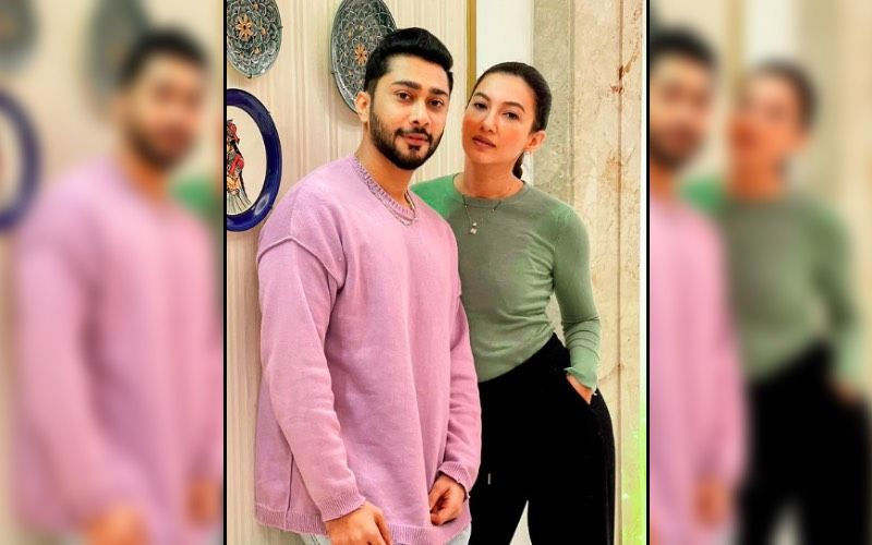 Newlyweds Gauahar Khan And Zaid Darbar Are Twinning Together As They Get Spotted At The Airport  Hand-In-Hand