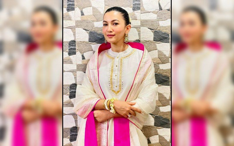 Gauahar Khan Says She Feels 'Like A Newly Wedded Bride' As She Wears A Stunning Traditional Outfit – See Pics