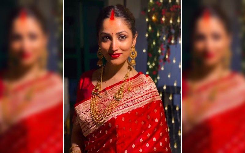 Yami Gautam-Aditya Dhar Wedding New UNSEEN Pictures: Actress Looks Breathtaking In Red, Says, 'Rind Posh Maal' As She Radiates Ethereal Glow