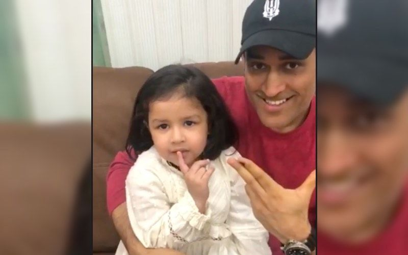 Team Chennai Super Kings Makes Sweet Post On Mahendra Singh Dhoni's Daughter Ziva's Birthday; Shares An Adorable Pic Of Father-Daughter Duo