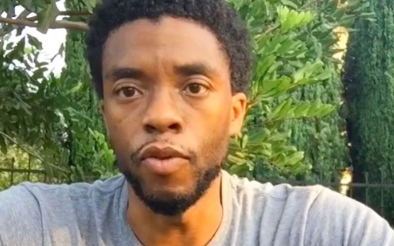 Black Panther Star Chadwick Boseman Bags A Posthumous Golden Globe Award; His Wife Breaks Down While Accepting It - Video