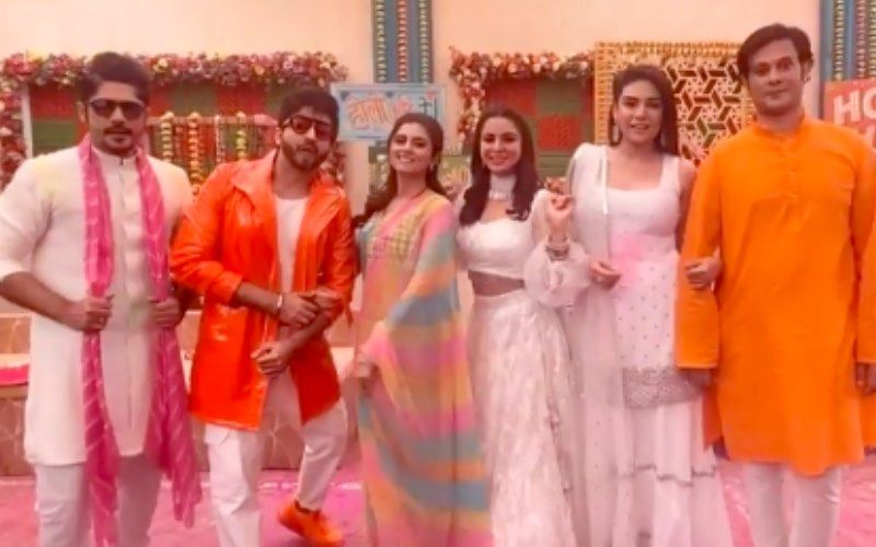 The Married Woman: Ridhi Dogra Meets Dheeraj Dhoopar, Shraddha Arya, Sriti Jha On The Sets Of Kundali Bhagya – VIDEO