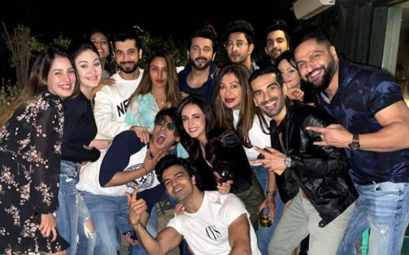 Naagin 5: Surbhi Chandna, Sharad Malhotra, Mohit Sehgal Enjoy Themselves To The Fullest At Farewell Bash - INSIDE Pics