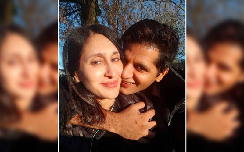 Karanvir Bohra Joins Silhouette Challenge With Teejay Sidhu But Faces An Epic Fail; Courtesy His Youngest Daughter– VIDEO