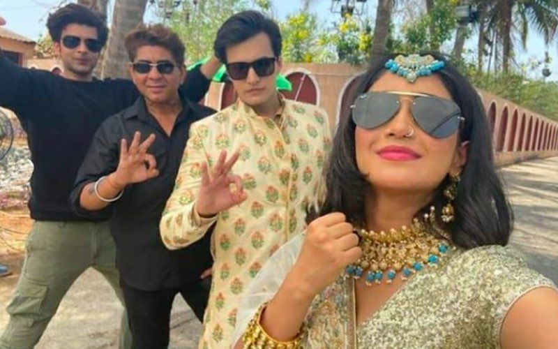 Yeh Rishta Kya Kehlata Hai: Karan Kundrra Thanks Shivangi Joshi And Mohsin Khan For Being Extra Supportive As The Duo Gears Up For Saghai Ceremony – See BTS Pics
