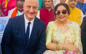 Anupam Kher Rubbishes Wife Kirron Kher's Death Hoax; 'It Is False, She Is Doing Absolutely Fine'