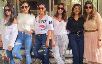 Shah Rukh Khan's Wifey Gauri Khan Has A Chill Saturday As She Catches Up With Besties Maheep Kapoor, Seema Khan And Bhavana Pandey - See Pic