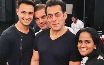 A Fan Asks Aayush Sharma About His Feelings On Being Surrounded By The Khans; Actor Gives A Humble Reply